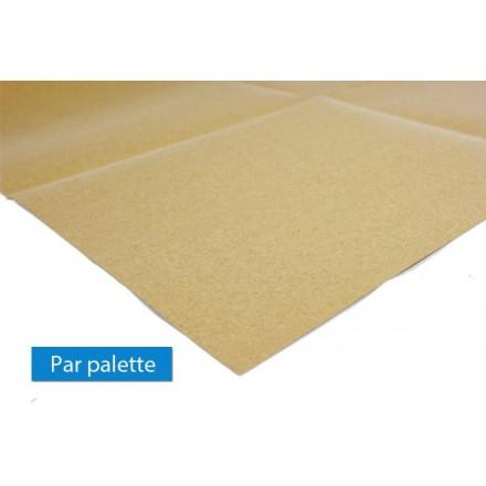 Papier antiglisse pour stabilisation des palettes for Combien de parpaing par palette