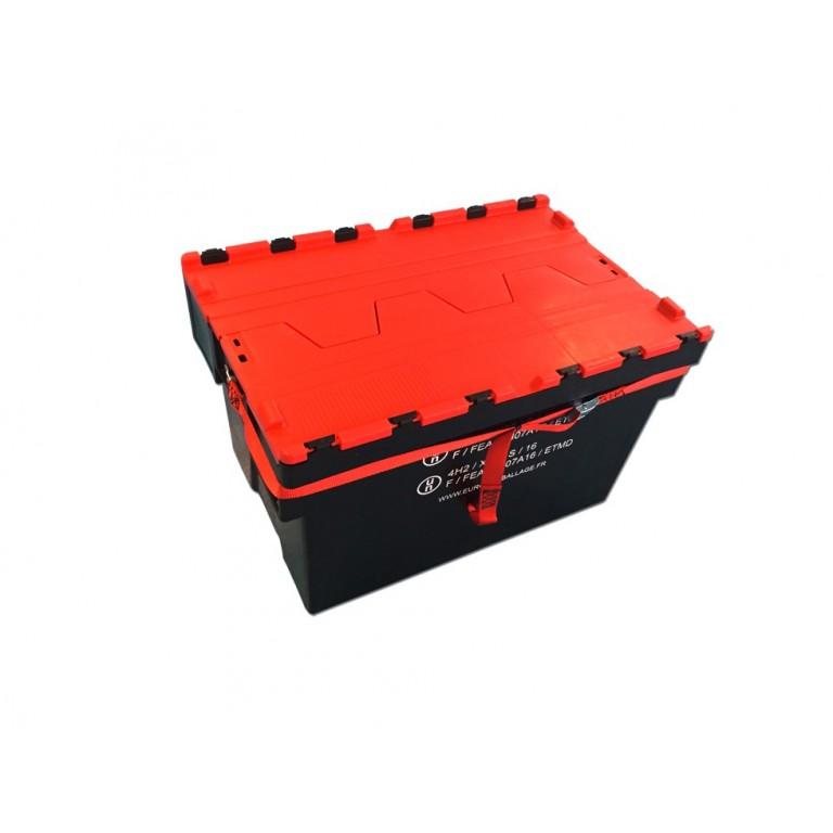 Caisse plastique 4H2 et 4H2V - Distripackaging