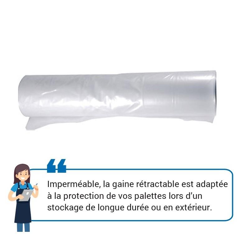 Gaine rétractable - Distripackaging
