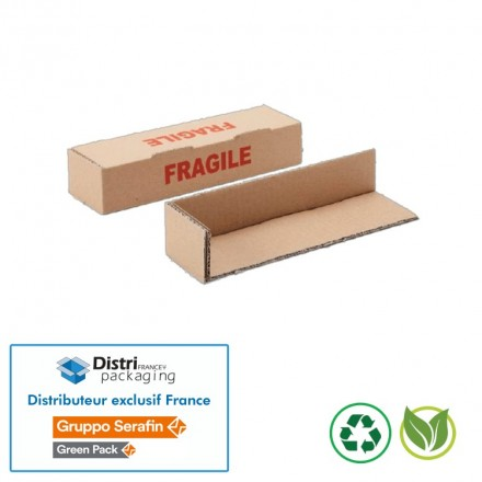 Coin Greenpack - TC L Fragile simple cannelure
