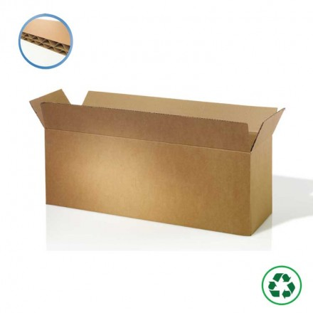 Caisse carton pour produits longs