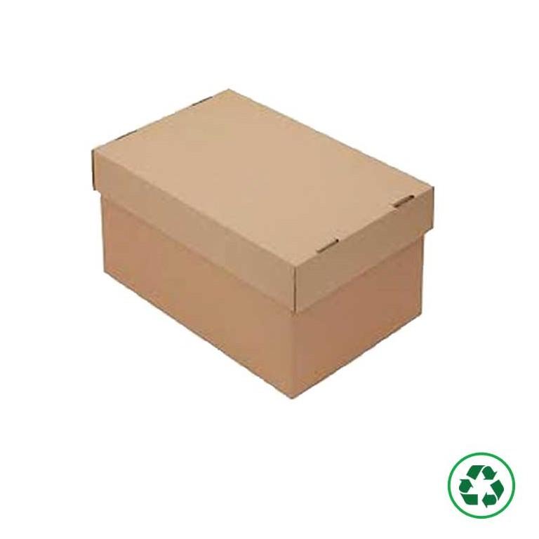 Caisse à couvercle et à fond inviolable - Distripackaging