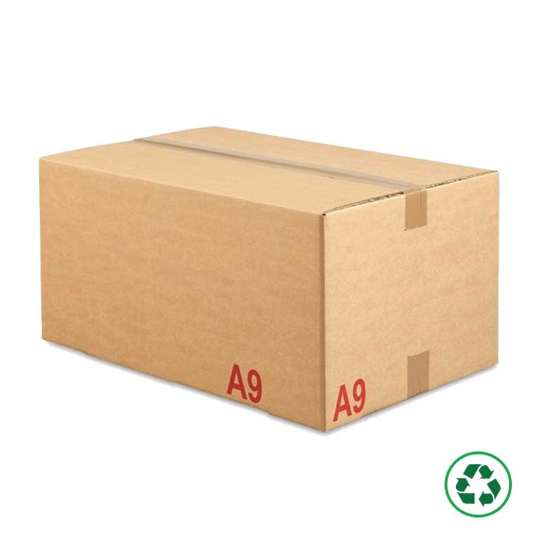 Caisse carton palettisable type A