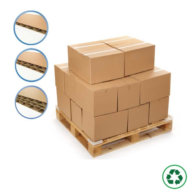 Caisse palettisable - Distripackaging