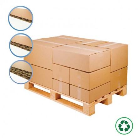 Caisse carton palettisable - Distripackaging