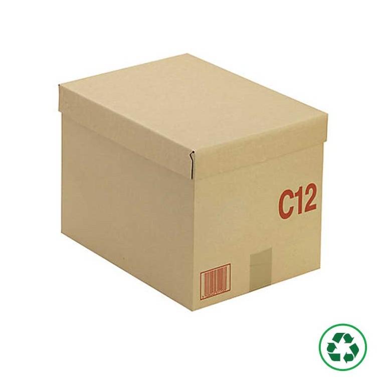 Caisse carton palettisable Type C - Distripackaging