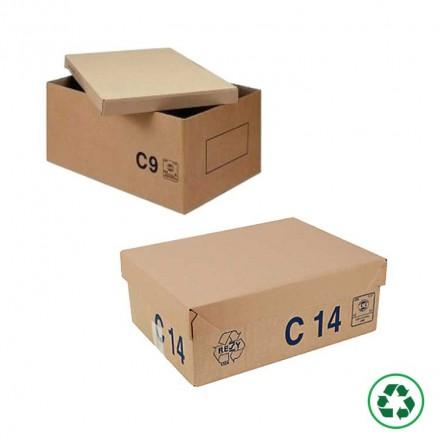 Caisse palettisable Type C avec couvercle - Distripackaging
