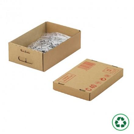 Caisse carton palettisable type C40