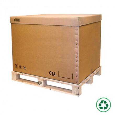 Caisse carton palettisable C2A, C1A, C2B