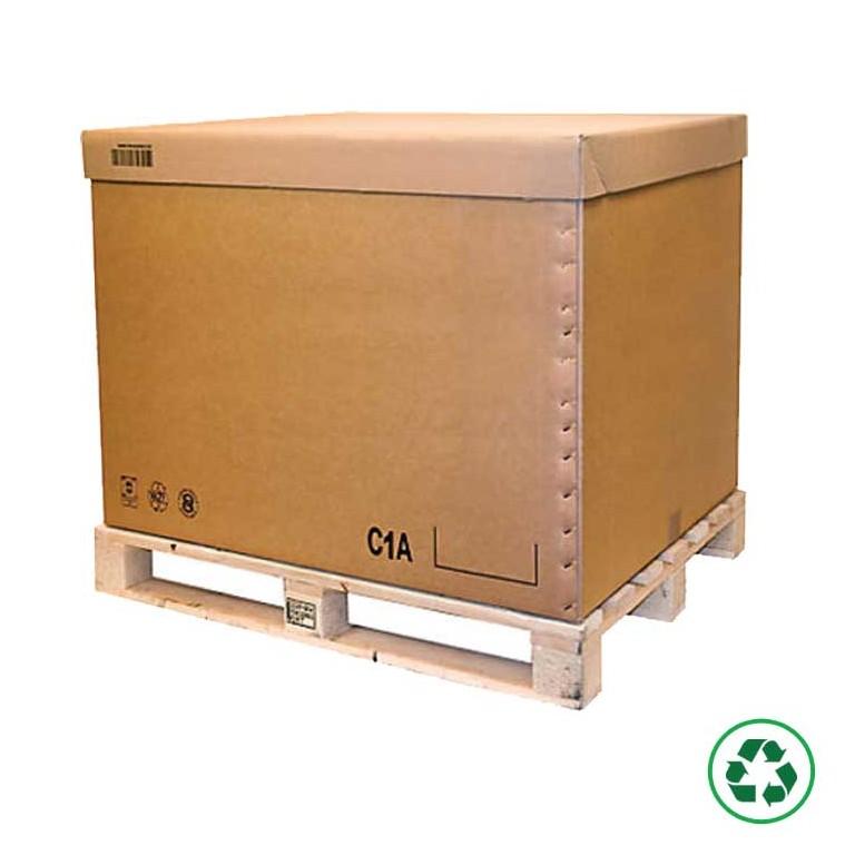 Conteneur carton palettisable C2A, C1A, C2B - Distripackaging