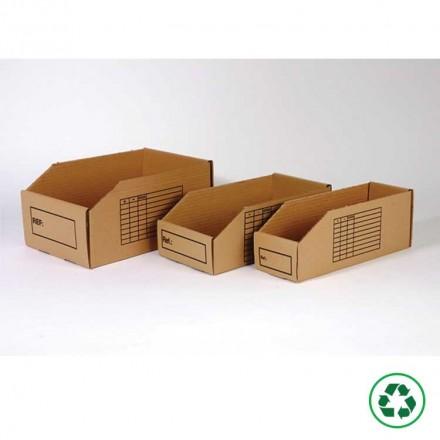 Bac à bec carton - Distripackaging