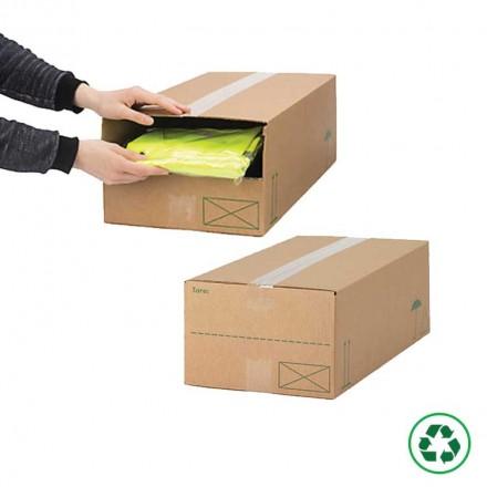 Caisse carton type 3 Suisses - Distripackaging