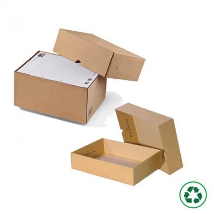 Caisse carton télescopique - Distripackaging