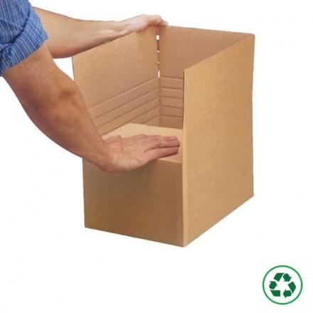 Caisse carton à hauteur réglable - Distripackaging