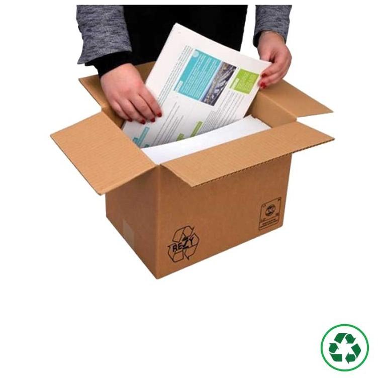 Caisse carton imprimerie - Distripackaging