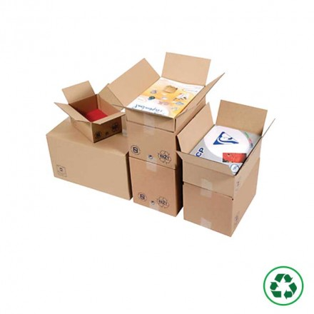 Caisse carton format imprimeur - Distripackaging