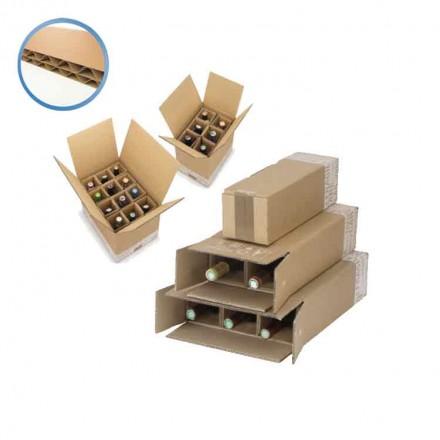 Caisse bouteille renforcée - Distripackaging