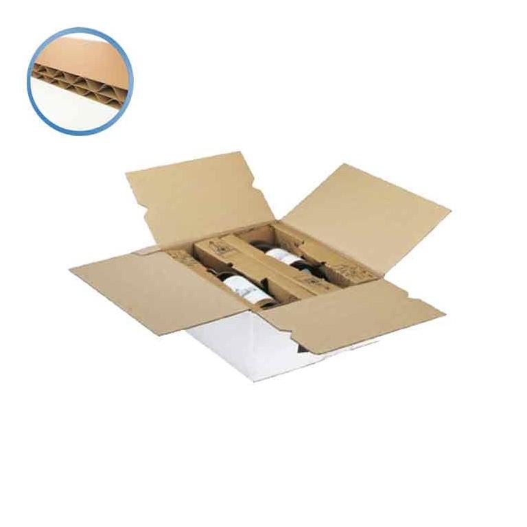 Caisse carton vin et champagne - Distripackaging