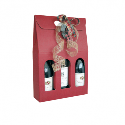 Etui à bouteille en carton - Distripackaging