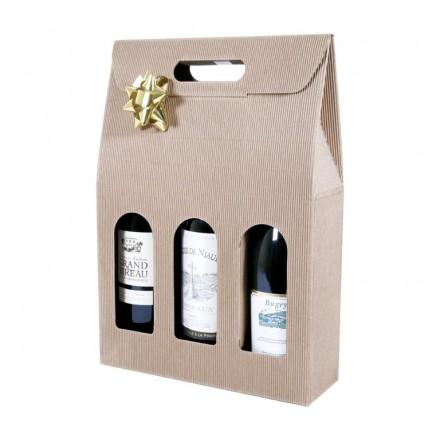 Etui cadeau carton pour bouteille - Distripackaging