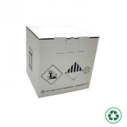 Caisse carton agrée ONU 4GV - Distripackaging
