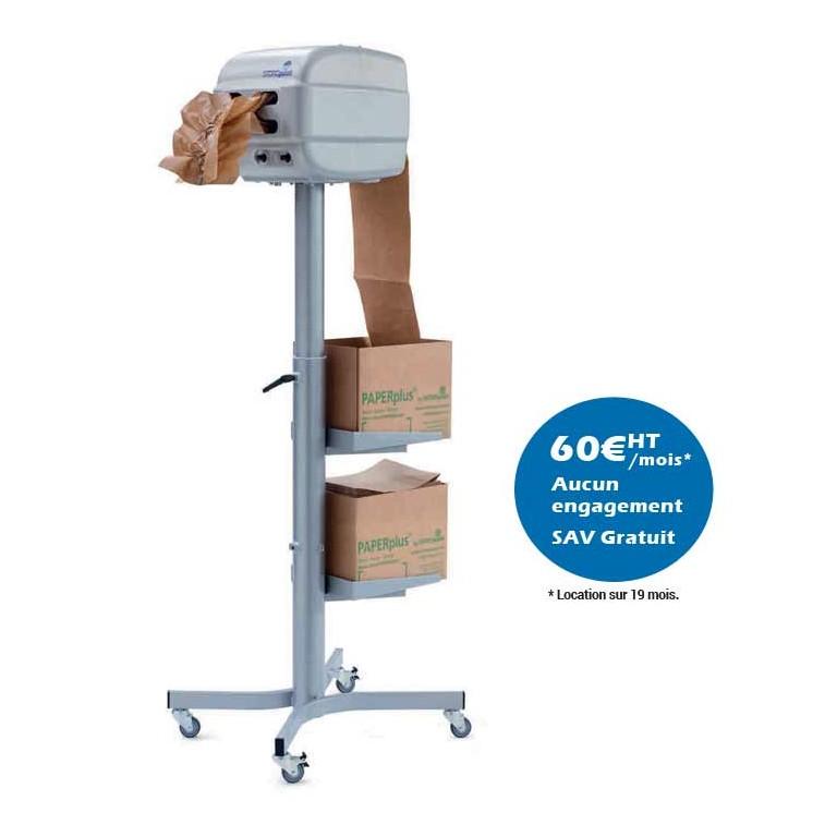 Machine de calage paper plus papillon - Distripackaging