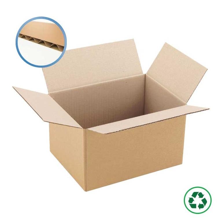 Caisse américaine en carton simple cannelure