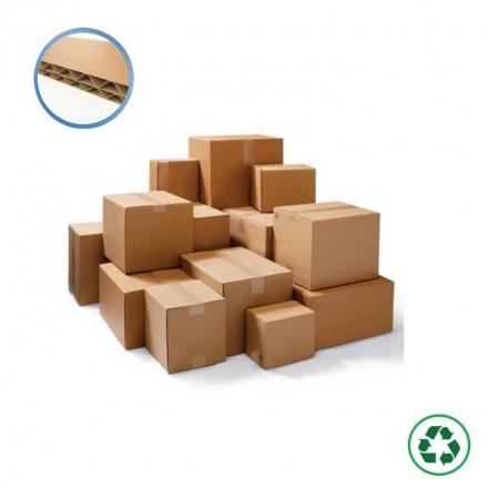 Caisse américaine en carton double cannelure - Distripackaging