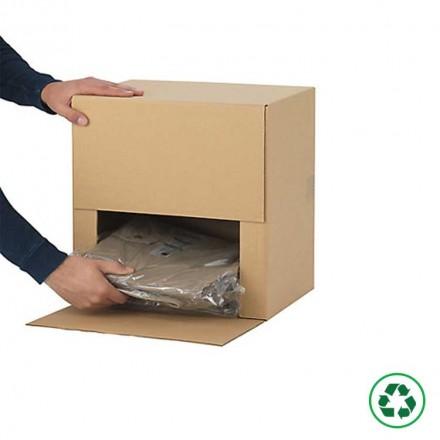 Caisse carton format Décathlon - Distripackaging