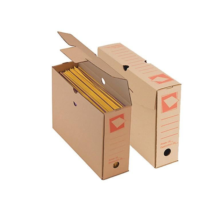 Boite à archives en carton - Distripackaging