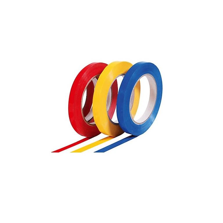 Ruban adhésif PVC couleurs petites largeurs - Distripackaging