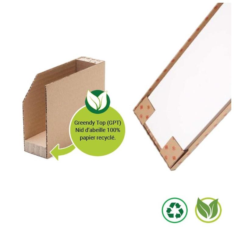 Coin carton et nid d'abeille - Distripackaging
