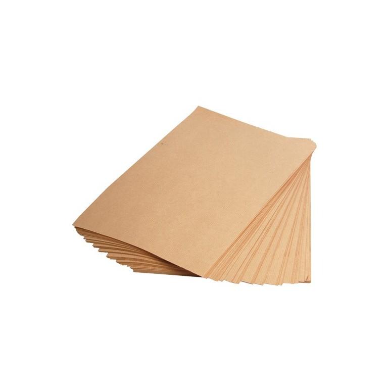 Papier kraft économique découpé format feuille - Distripackaging