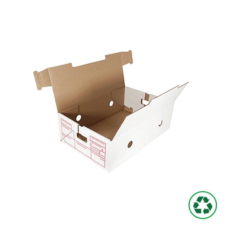 Distripackaging - Caisse à viande en carton pour le transport et le stockage