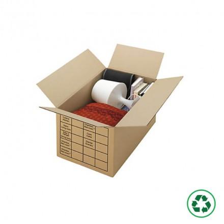 Carton déménagement avec impression - Distripackaging