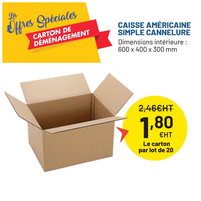 Carton déménagement petit prix - Distripackaging