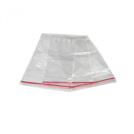 Sachet plastique avec fermeture flexi-pression