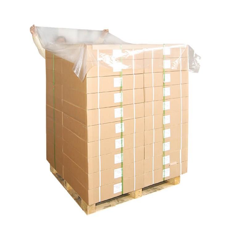 Coiffe palette plastique - Distripackaging