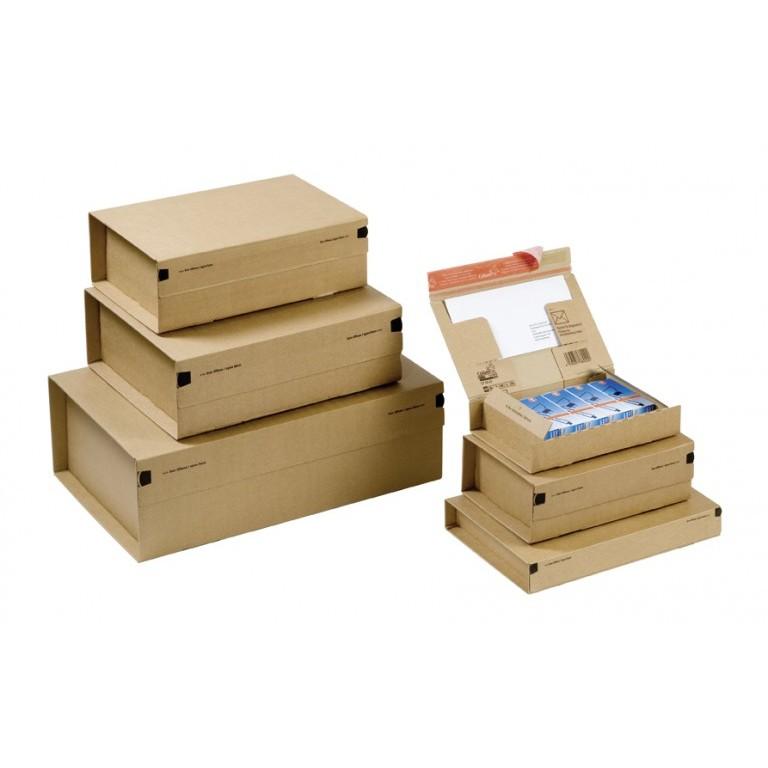 Boite postale en carton avec fermeture adhésive - Distripackaging