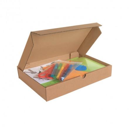 Boîtes postales brunes extra plates - Distripackaging