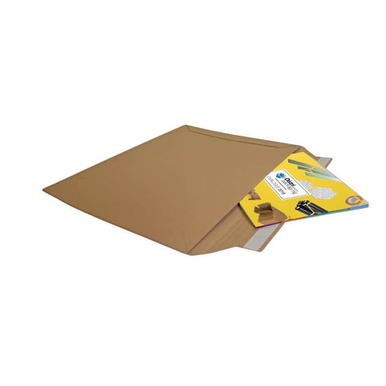 Pochette carton fermeture adhésive - Distripackaging