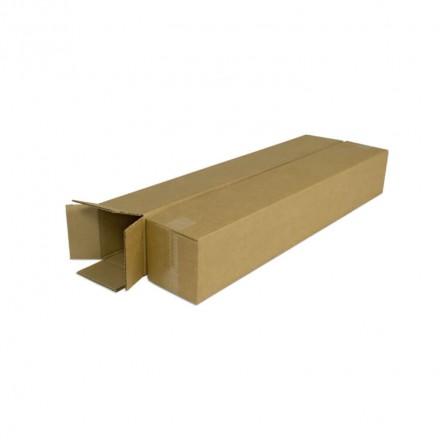 Tube postal rectangulaire en carton - Distripackaging