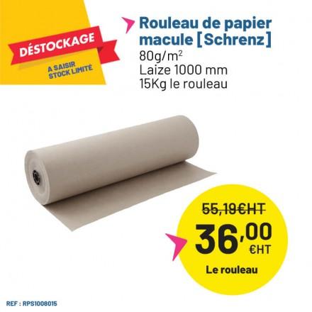 Rouleau de papier Schrenz pour un calage parfait de vos produits.